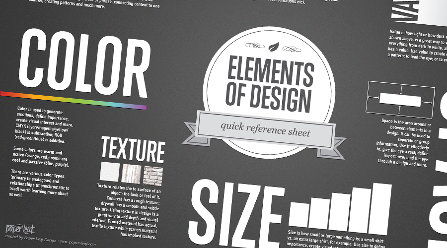Graphic Design Cheat Sheets to Make Your Life Easier | Medialoot