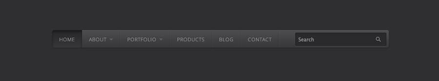 Pretty CSS3 Menu Bars