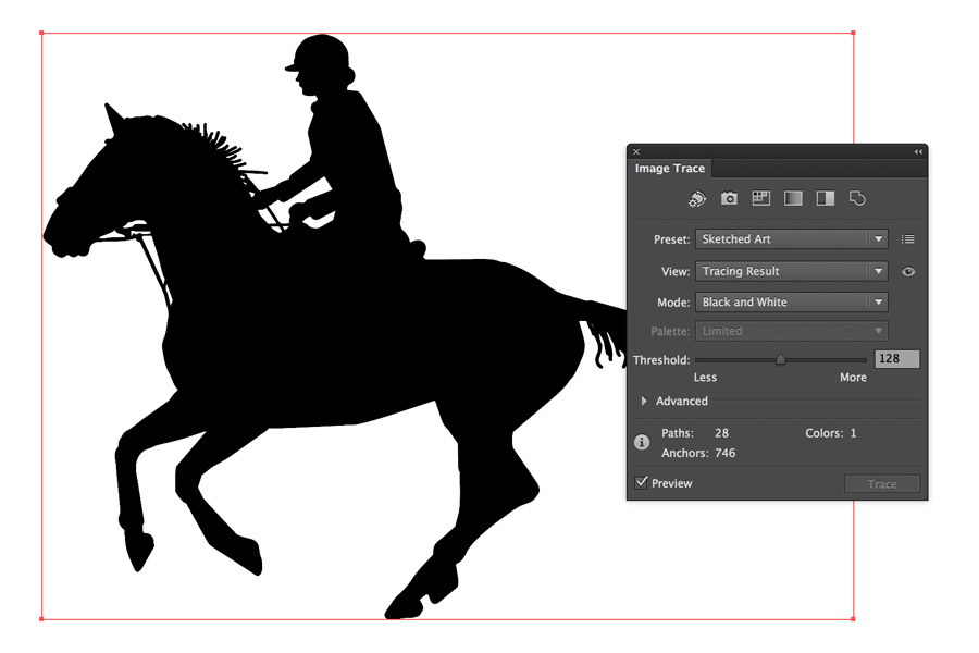 how to turn an image into a vector