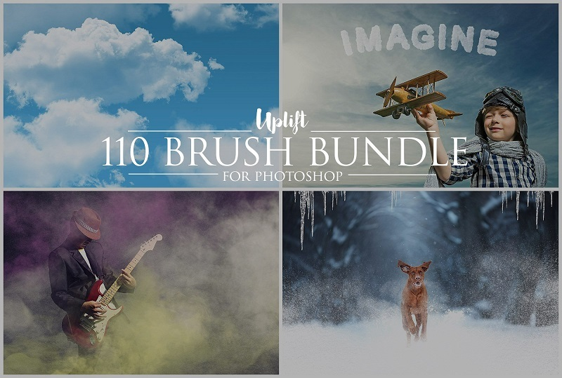 20 Stunningly Realistic Cloud Brushes for Photoshop, free