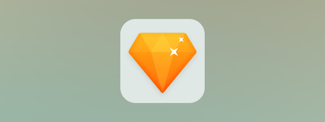 How to Create a Flat Diamond Icon with Sketch App