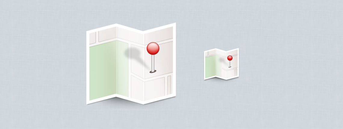 How to Create a Location Map Icon in Photoshop