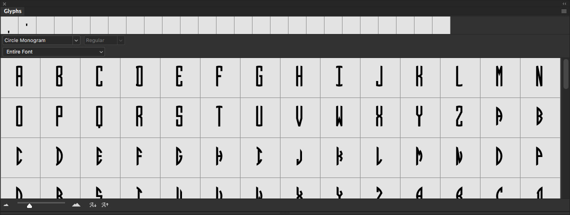 How to Enable OpenType Features in Word, Photoshop and Illustrator