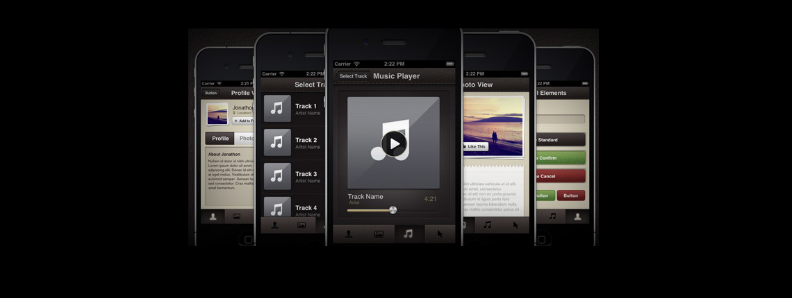 The Birth of the iPhone App Theme