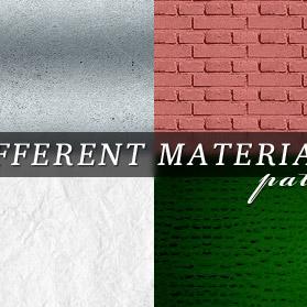 Different materials patterns Vol1