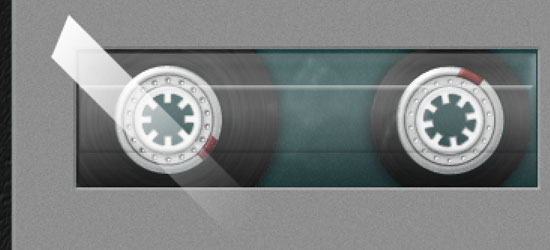 Create A Detailed Cassette Tape Icon in Photoshop