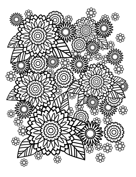 How To Create A Stress Relief Coloring Book Page In Adobe Illustrator -  WeGraphics
