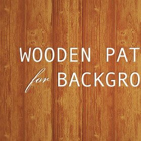 Wooden patterns for backgrounds