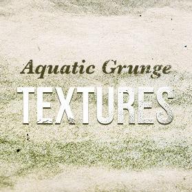 Aquatic grunge textures