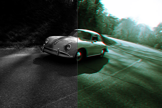 Create a Quick Vintage 3D Effect in Photoshop - WeGraphics