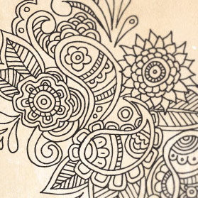 Hand Drawn Floral Paisley Patterns