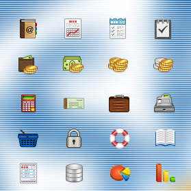 Business icons pack 32×32