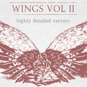 Highly detailed wings 2