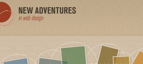 Patterns and textures in web design