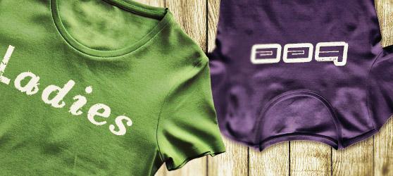 Ladies Tee Shirt Templates Vol1