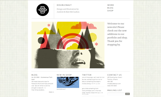 wonderful textured websites