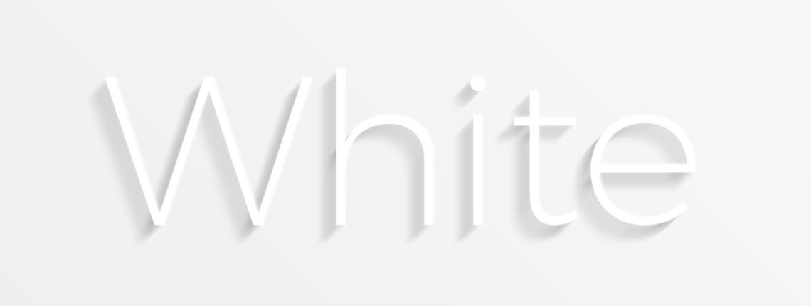 Create Legible White on White Text with Photoshop