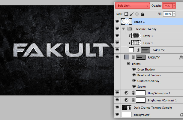 create an epic industrial grunge band logo in photoshop