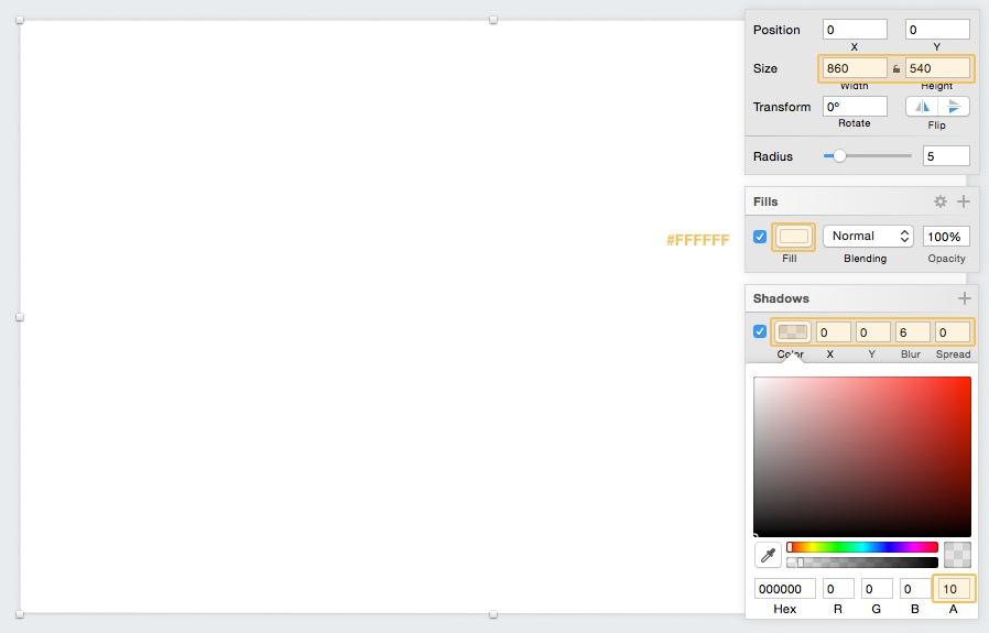 graph ui design tutorial for sketch app