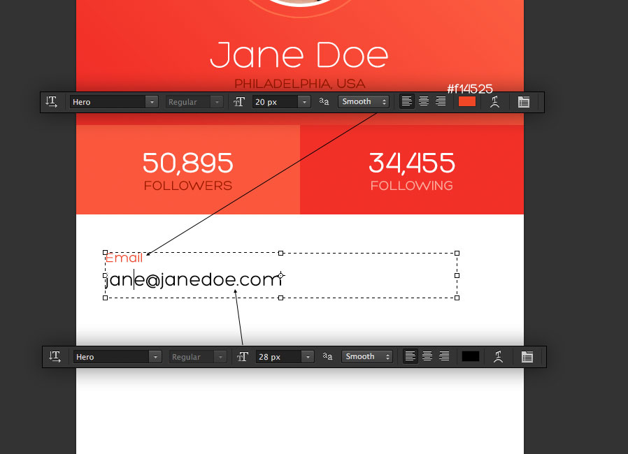 how to design an ios 7 inspired app screen