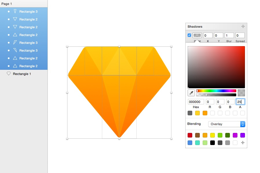 design flat icons with sketch app