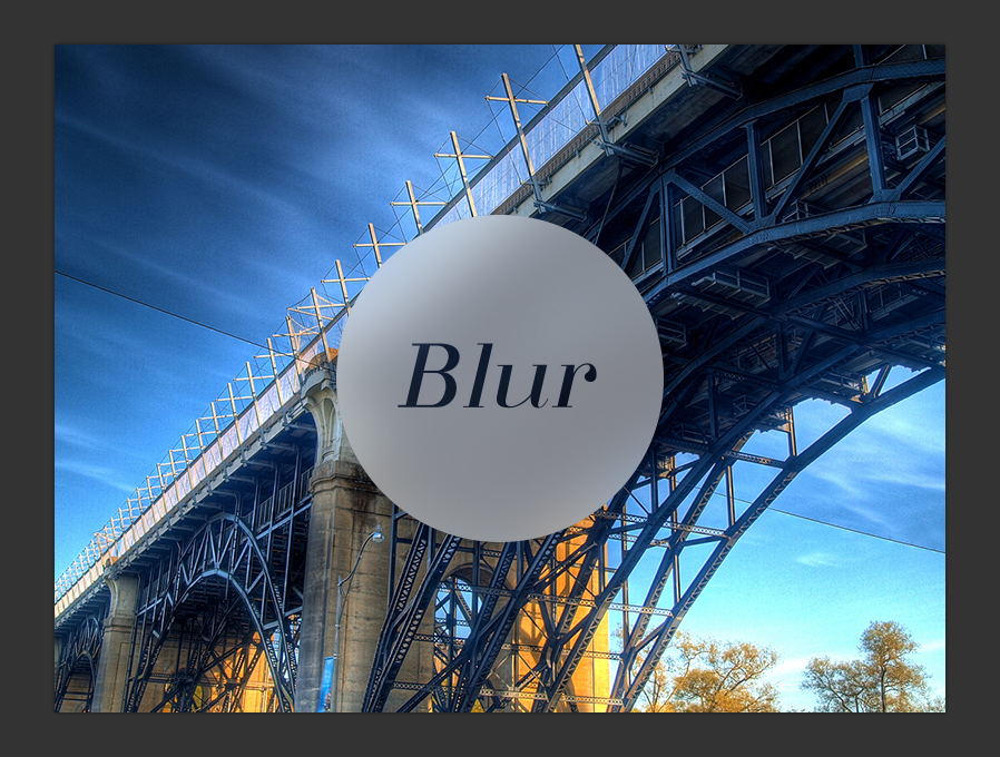 ios7 background blur in photoshop