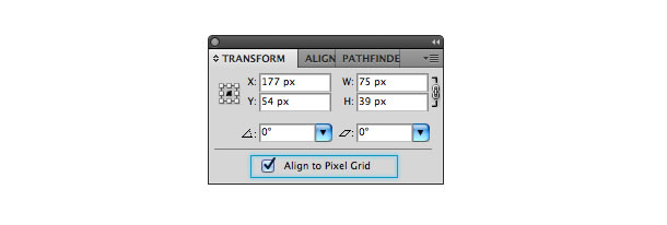 working with pixels and pixel grid in illustrator