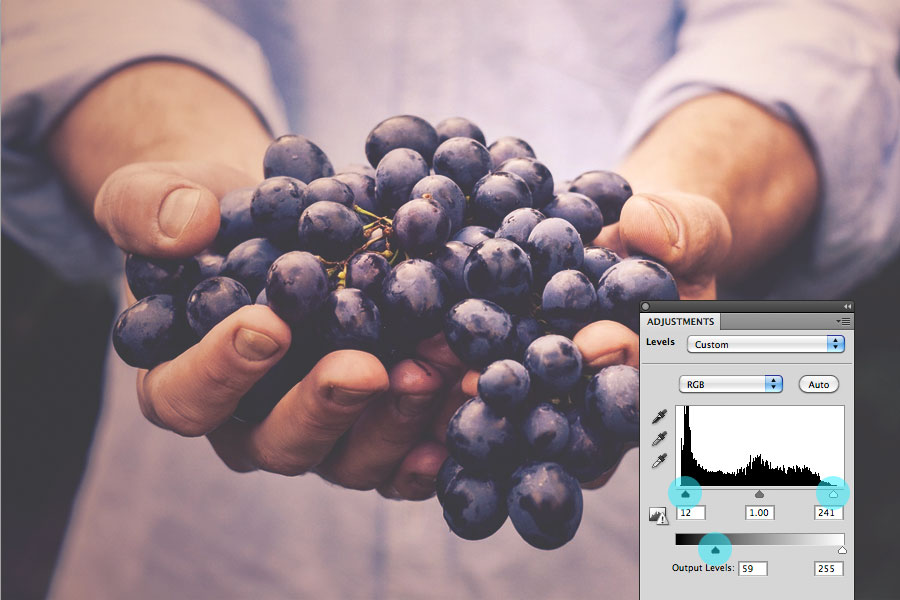 how to add a gradient in photoshop to one layer