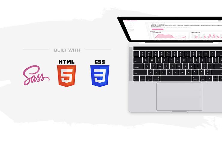 Free HTML5 Admin Template — Medialoot